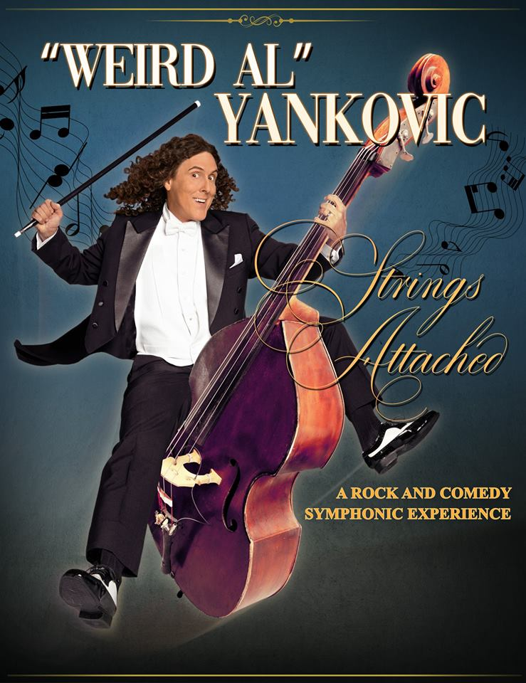 Weird Al Yankovic Announces Dates For Strings Attached